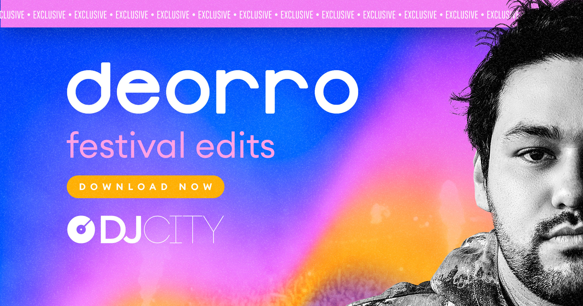 Deorro Releases Two Packs of Festival Edits Exclusively on DJcity