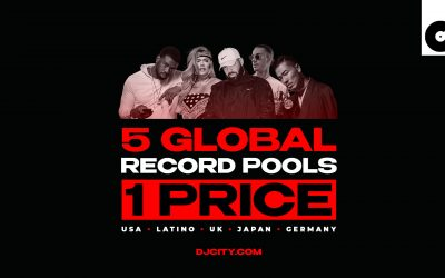 Get Five Record Pools for the Price of One With DJcity's New Global Music Page